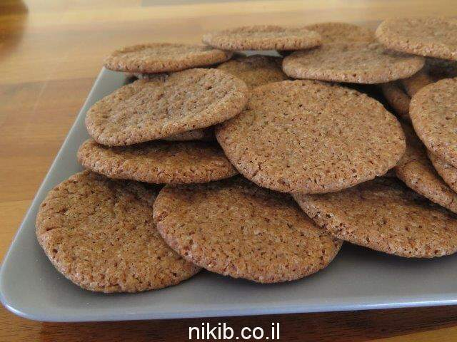 עוגיות שוקולית קפה