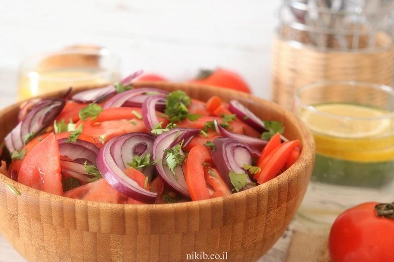 סלט עגבניות חריף של פלאפליות