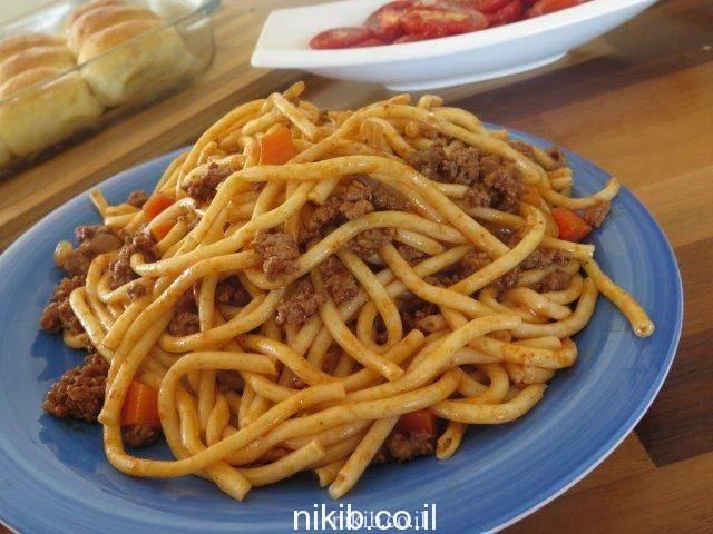 ספגטי בולונז לילדים