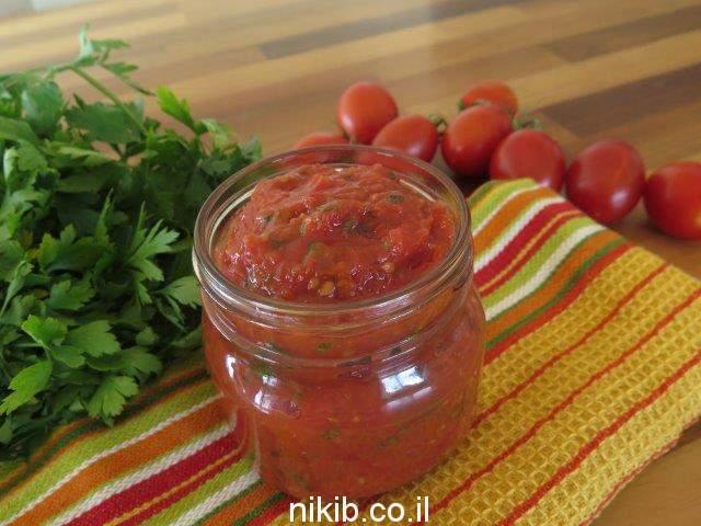 ממרח עגבניות שרי
