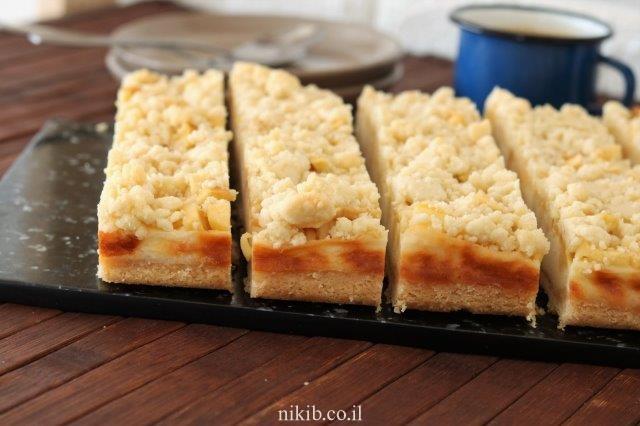 חיתוכיות גבינה ותפוחים