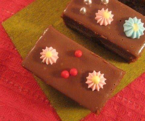 אצבעות שוקולד מעוגה