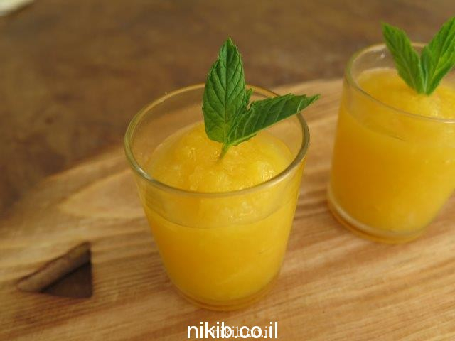 סורבה תפוזים