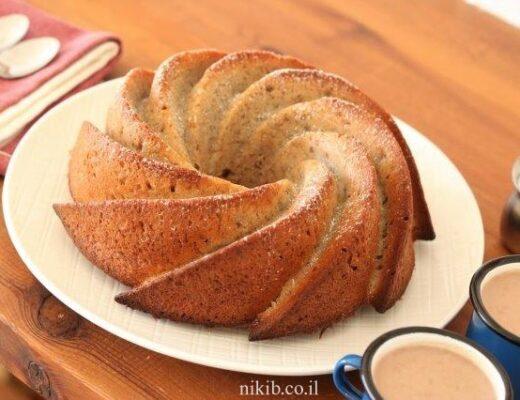 עוגת בננות מהירה