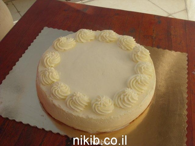 עוגת גבינה אפויה מעולה