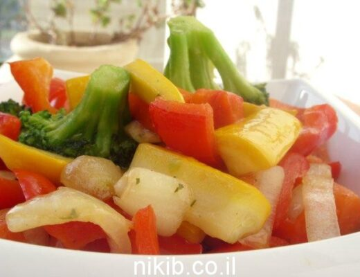 ירקות בנוסח סיני