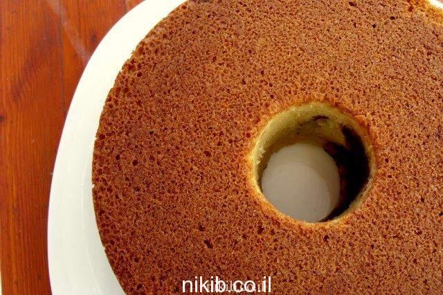 עוגת וניל שוקולית וקינמון