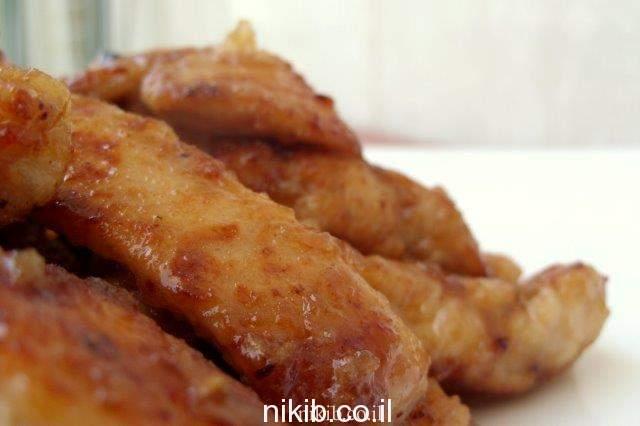 מתכון לחזה עוף ברוטב חמוץ מתוק