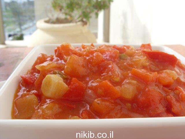 סלט עגבניות חריף / מתכונים שווים לארוחת שישי