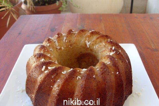 עוגת שיש ריבת חלב