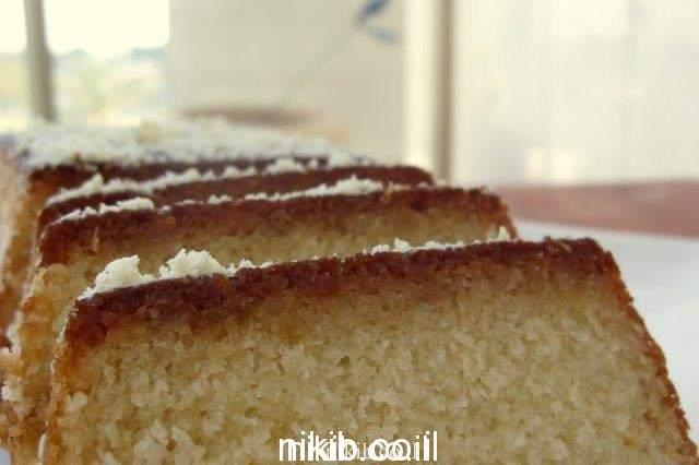 עוגת קוקוס הכי קלה שיש