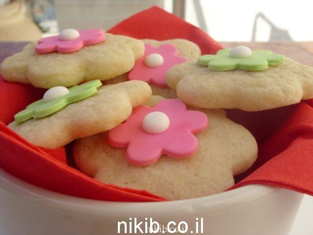 עוגיות פרחים