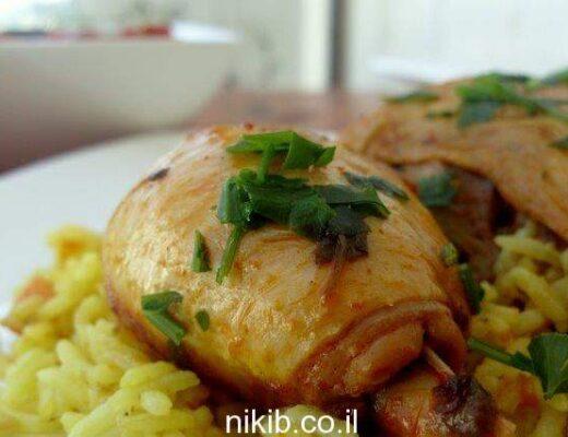 תבשיל עוף פיקנטי