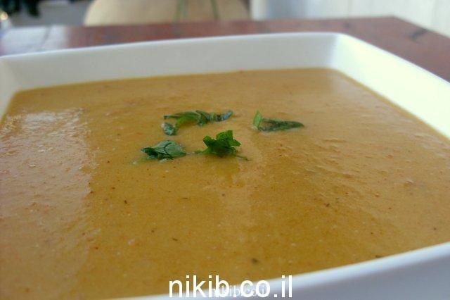 מרק ירקות שורש ותירס