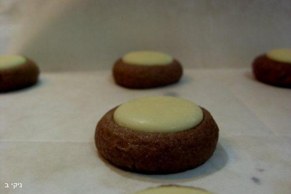 עוגיות טחינה דבש ושוקולד