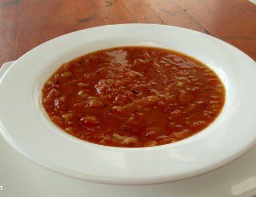 מרק עגבניות מעולה