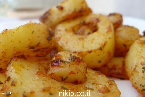 טבעות תפוחי אדמה / מתכונים שווים לארוחת שישי