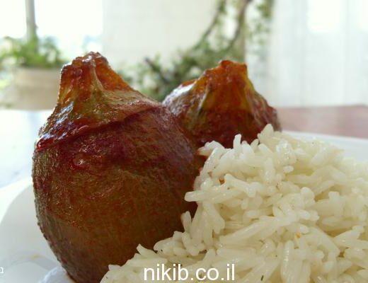 קישואים כדוריים ממולאים בשר
