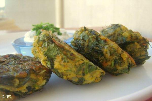 קציצות / לביבות ירק אפויות / ארוחת שישי מתכונים קלים