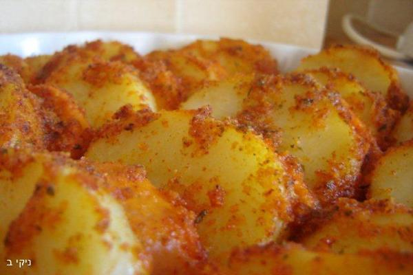 תפוחי אדמה ובטטות קריספיים מעולים / מבחר בישולים לשבת