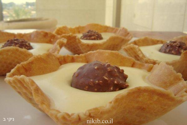 מוס שוקולד לבן פררו רושה