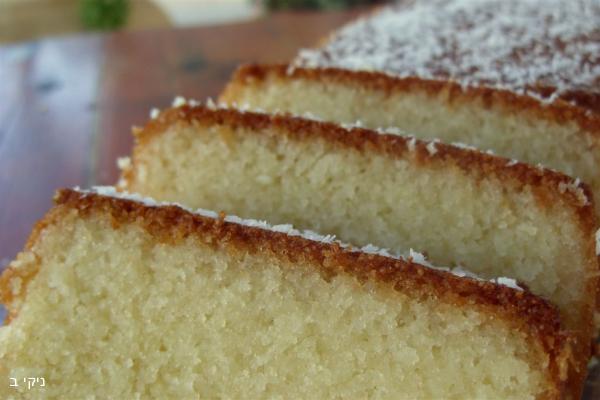 עוגת תפוזים סולת וקוקוס / בישולים קלים