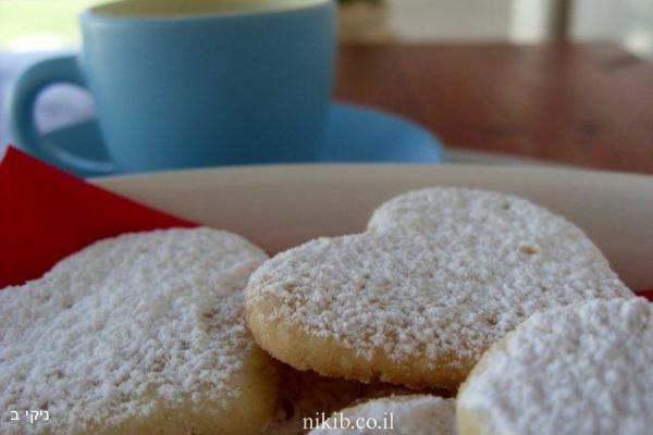 עוגיות חמאה לימוניות