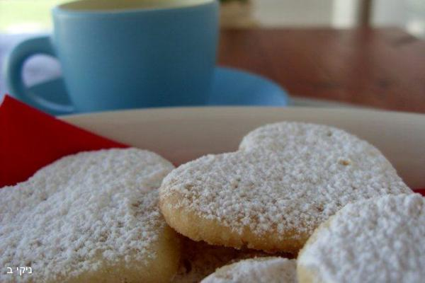 עוגיות חמאה לימוניות / מה מתחשק לבשל לארוחת שישי ?