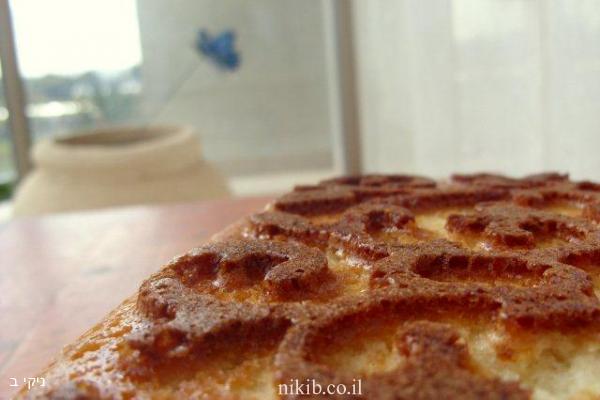 עוגת לימון זהובה