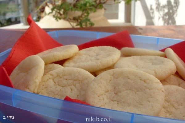 עוגיות חמאה לפסח