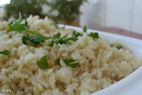 איך מכינים אורז מלא ?