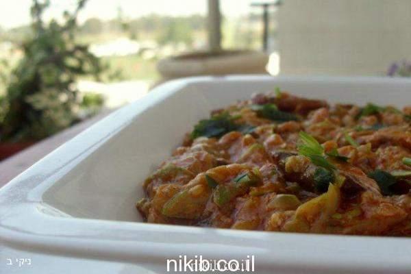 תבשיל קישואים ופטריות מהיר