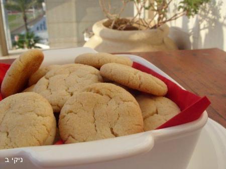 עוגיות חלבה סדוקות / מבחר בישולים לשבת